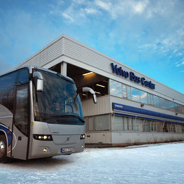 Volvo Bus Center Huddinge